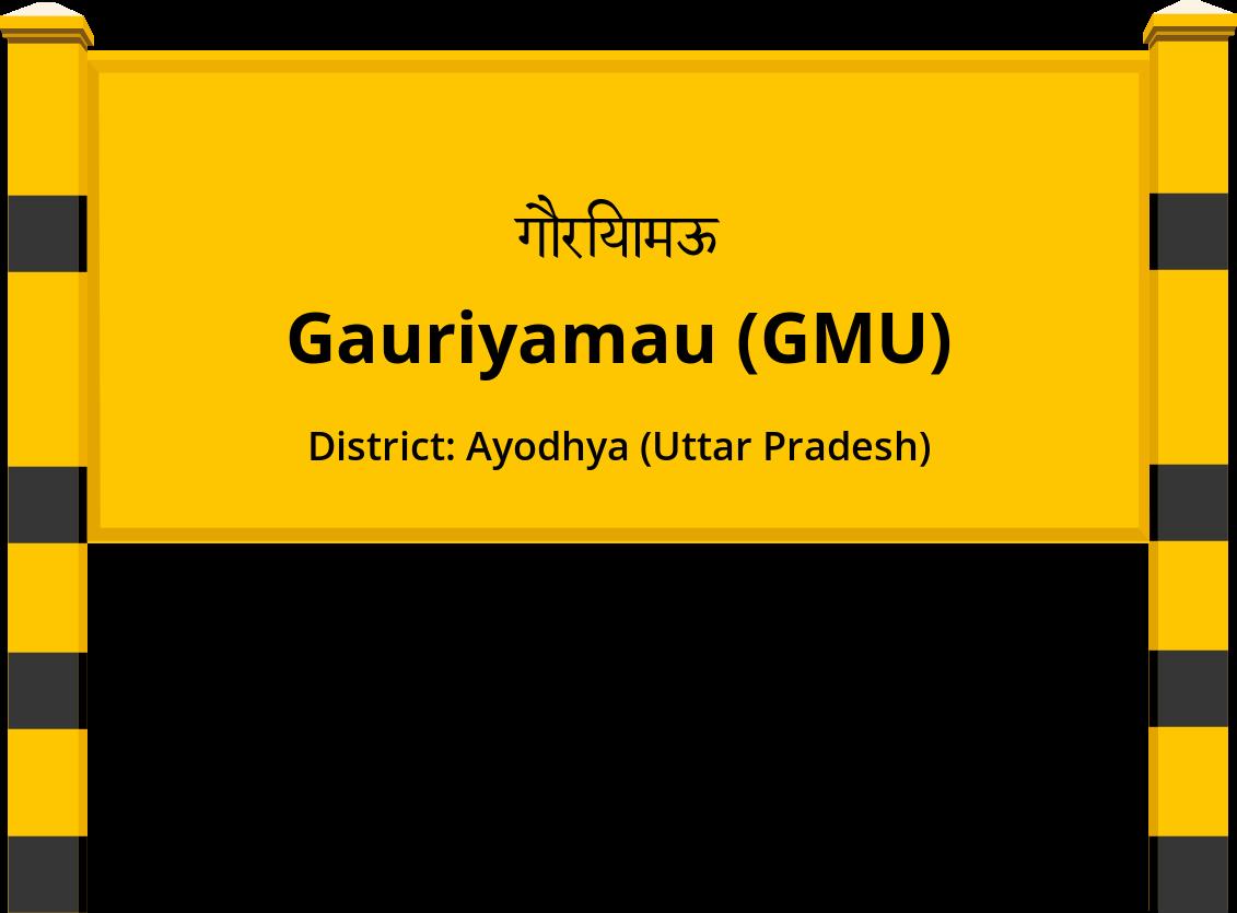 Gauriyamau (GMU) Railway Station