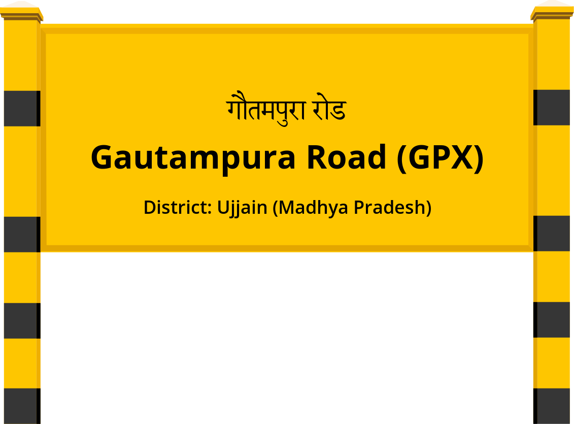 Gautampura Road (GPX) Railway Station
