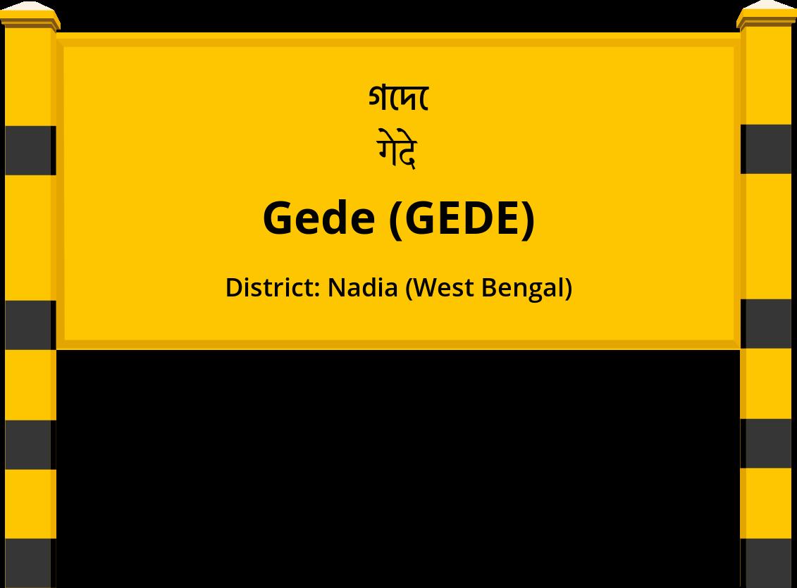 Gede (GEDE) Railway Station