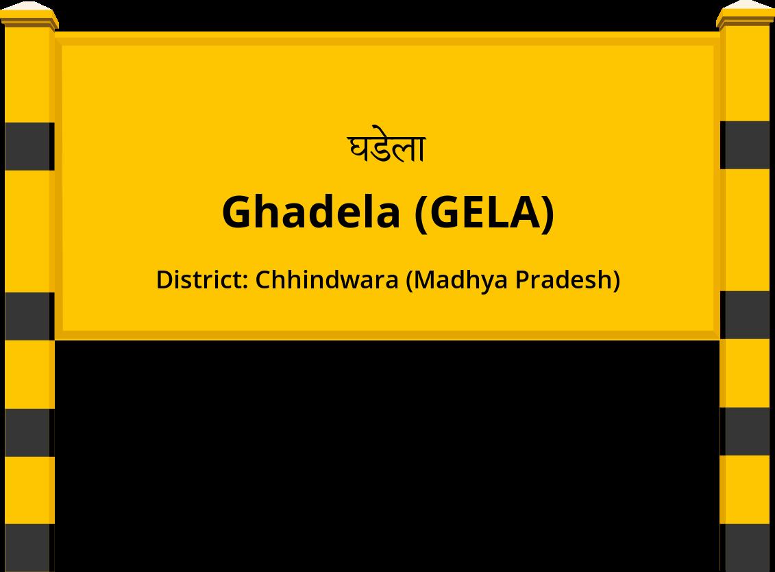Ghadela (GELA) Railway Station