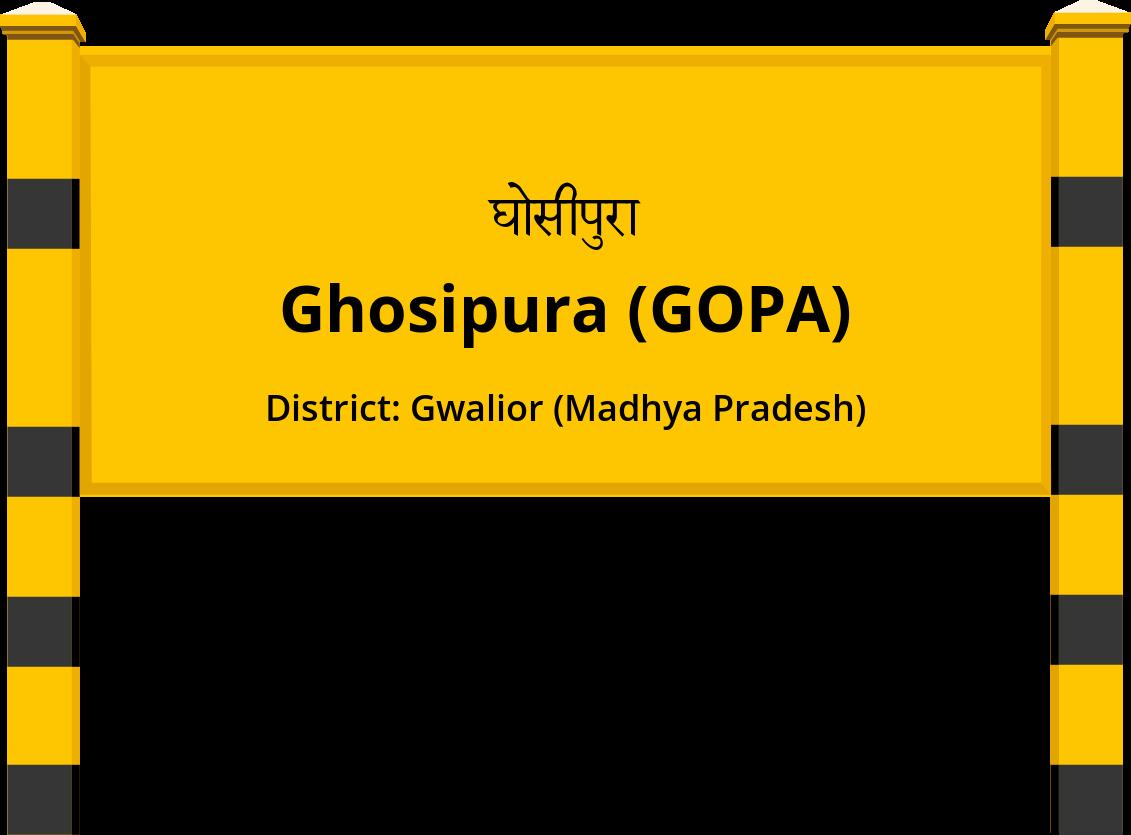 Ghosipura (GOPA) Railway Station