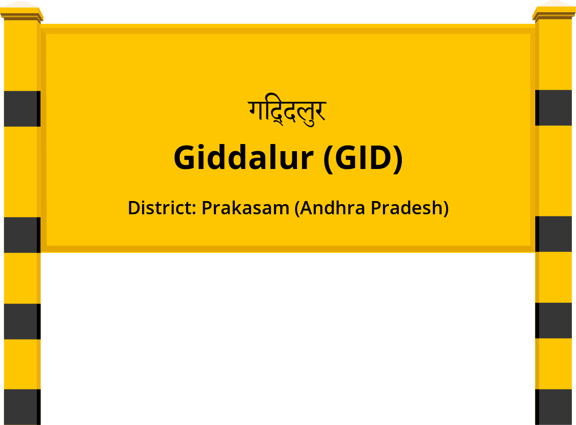 Giddalur (GID) Railway Station