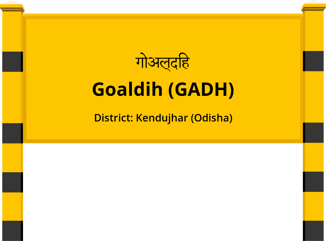 Goaldih (GADH) Railway Station