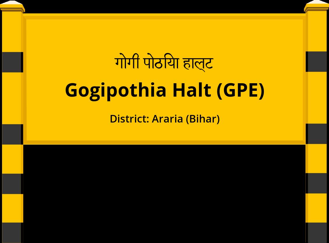 Gogipothia Halt (GPE) Railway Station