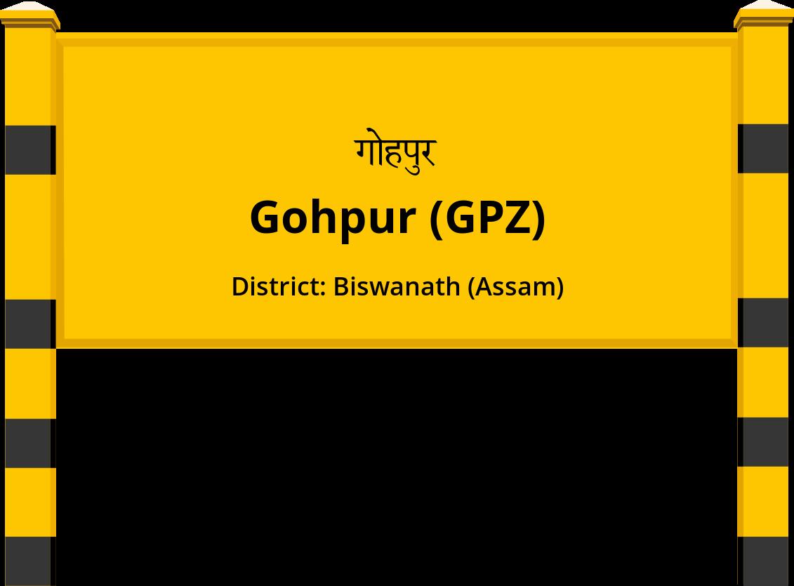 Gohpur (GPZ) Railway Station