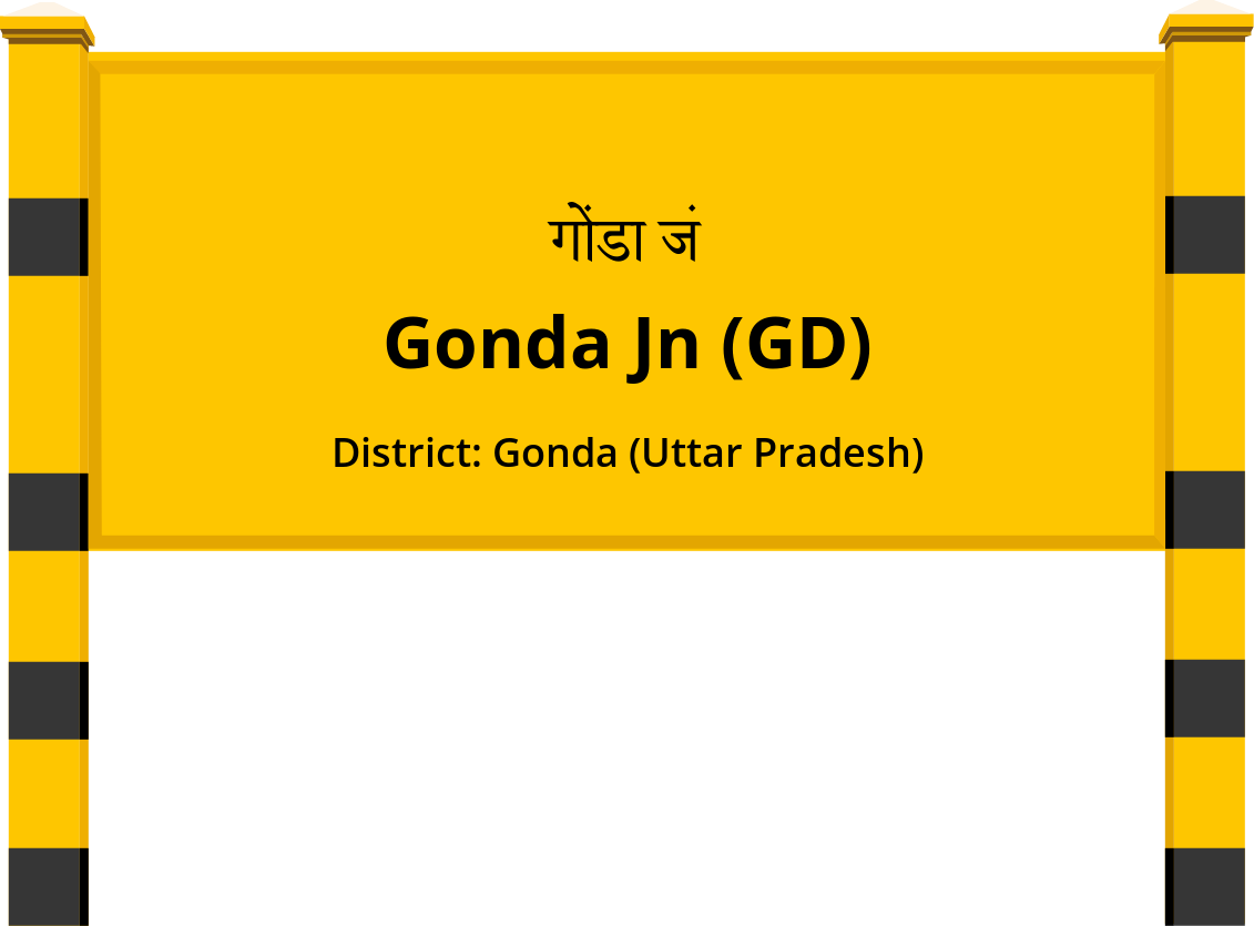 Gonda Jn (GD) Railway Station