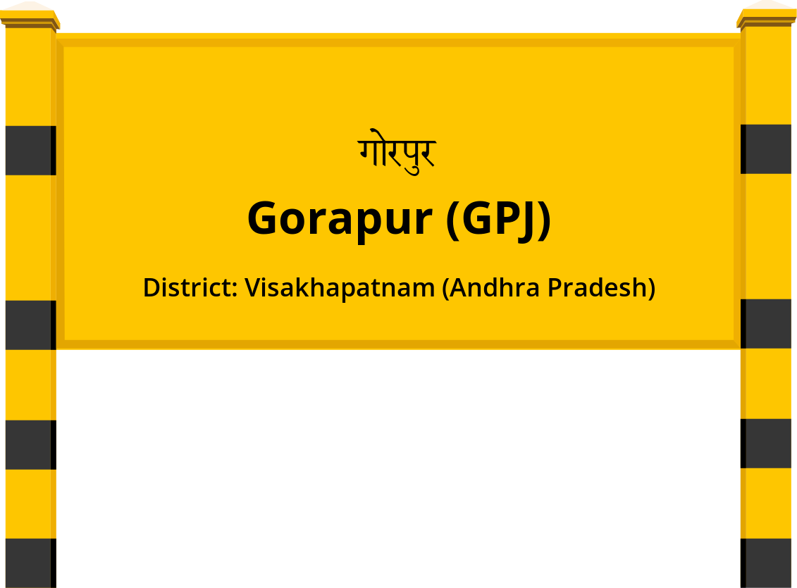 Gorapur (GPJ) Railway Station