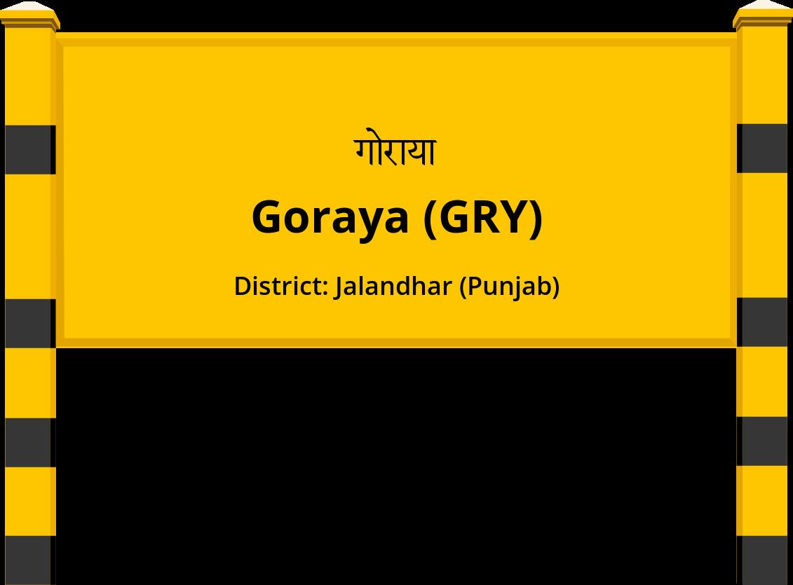 Goraya (GRY) Railway Station