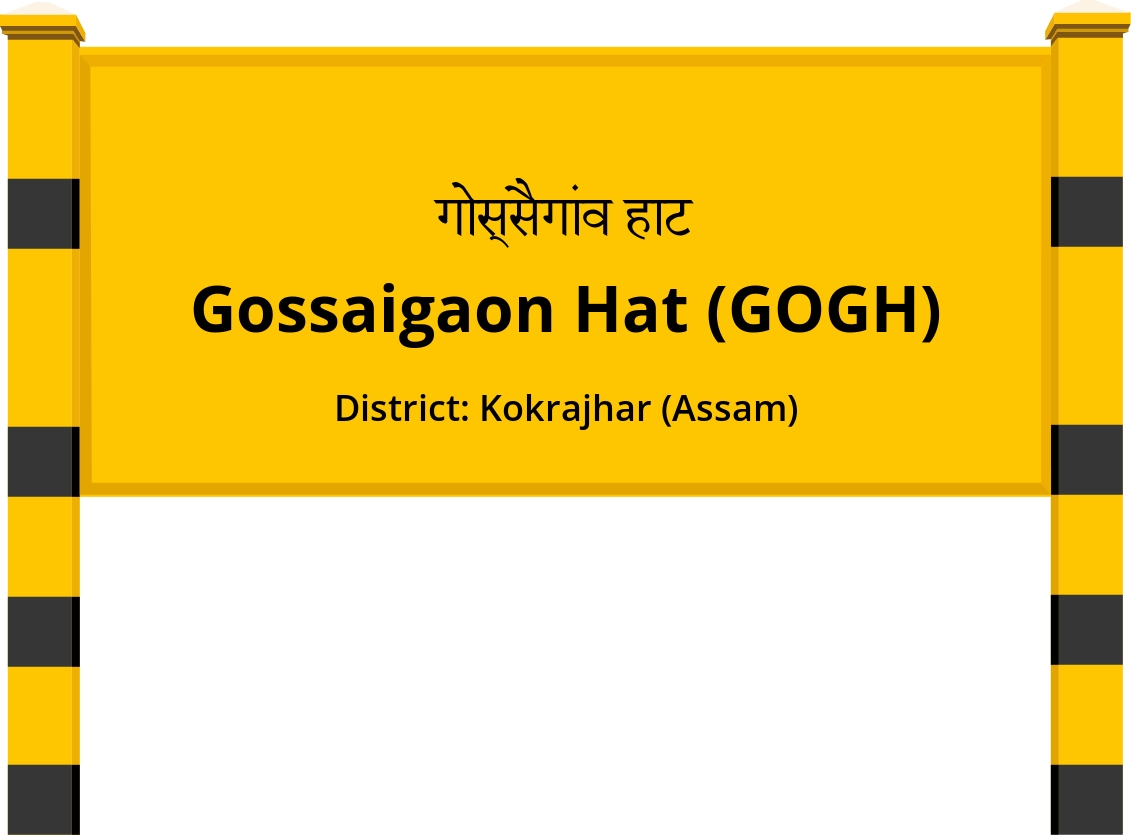 Gossaigaon Hat (GOGH) Railway Station