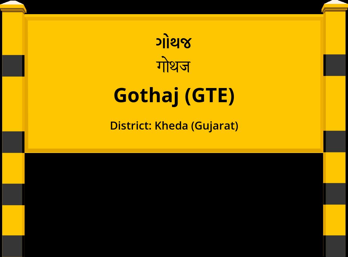 Gothaj (GTE) Railway Station