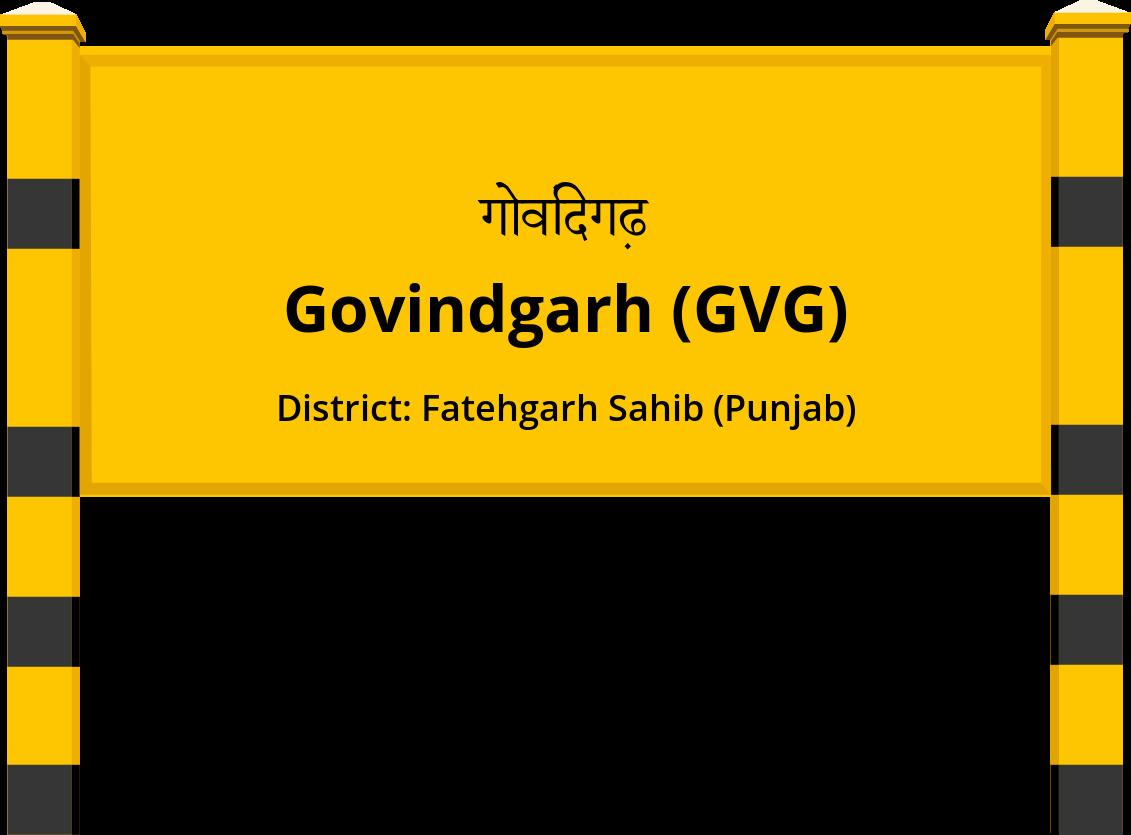 Govindgarh (GVG) Railway Station