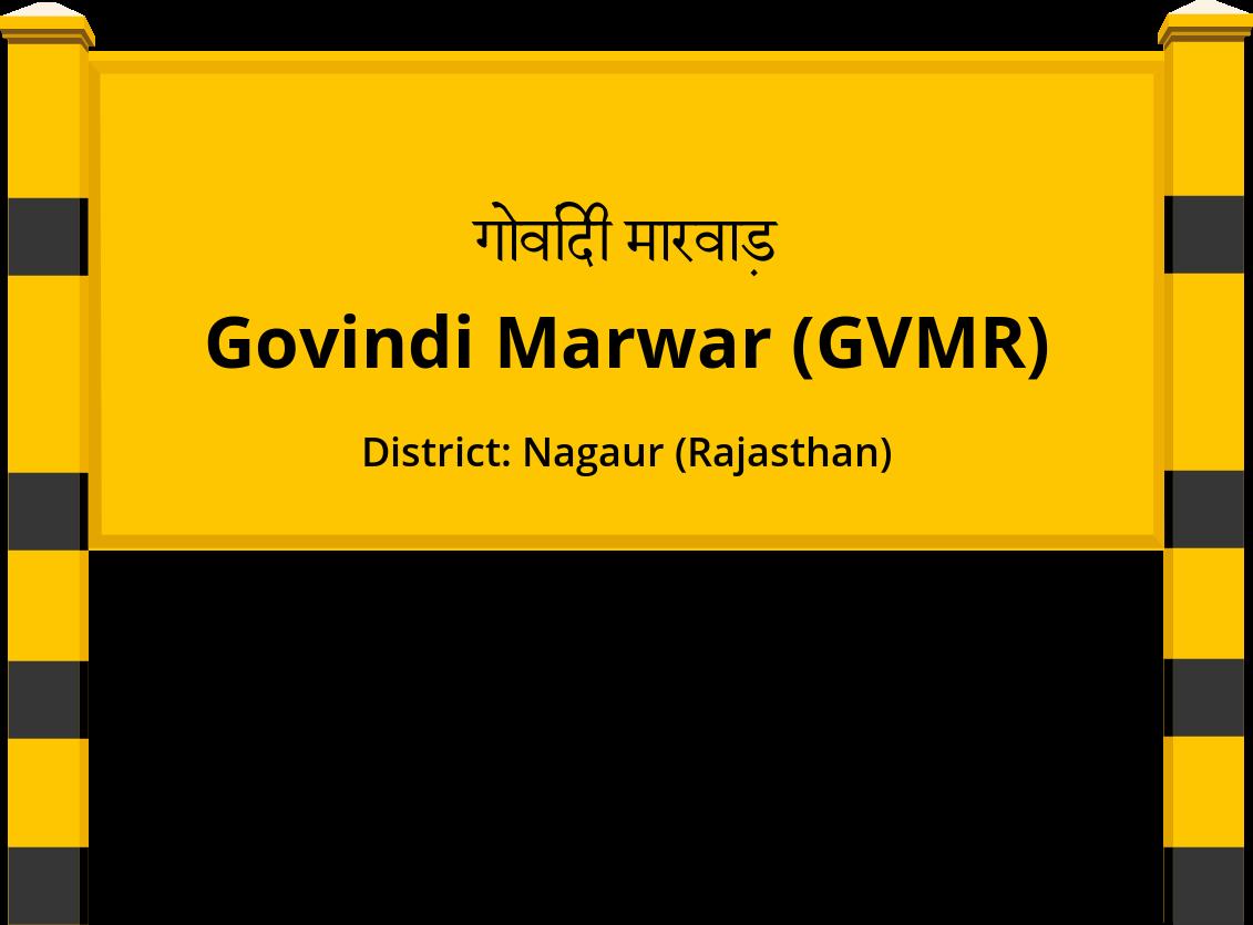 Govindi Marwar (GVMR) Railway Station