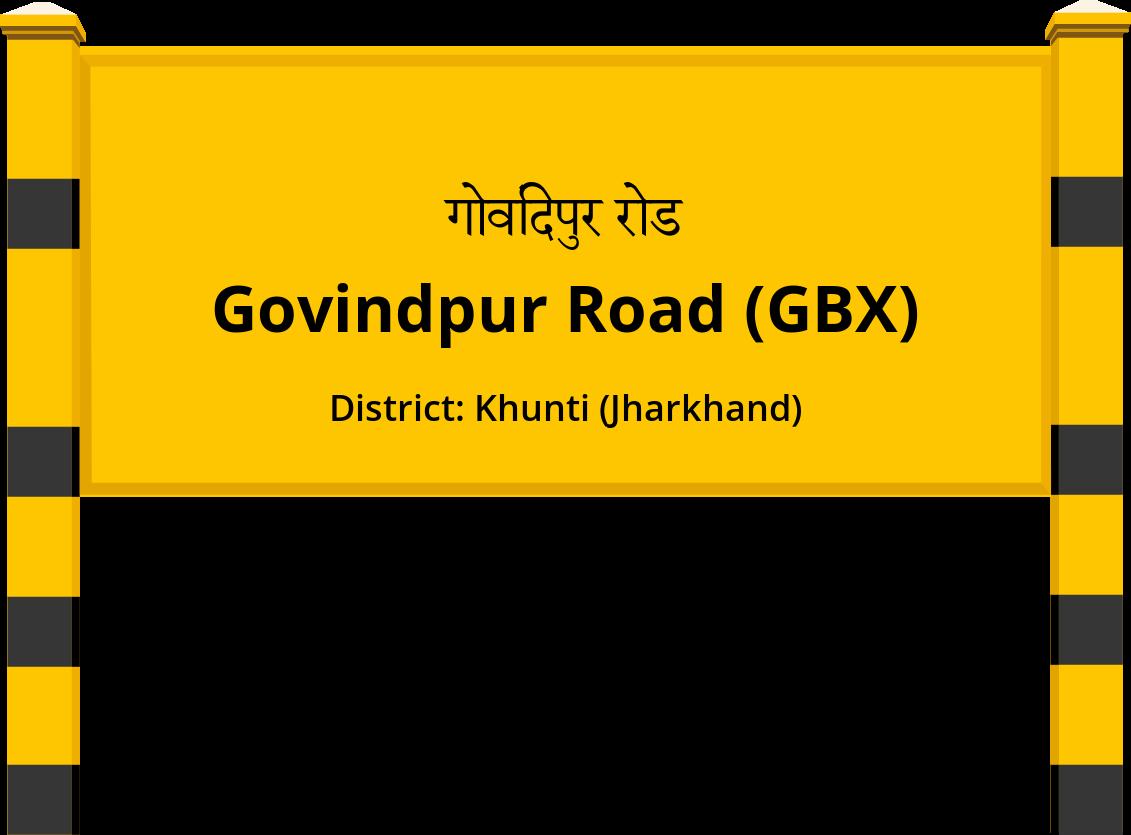 Govindpur Road (GBX) Railway Station