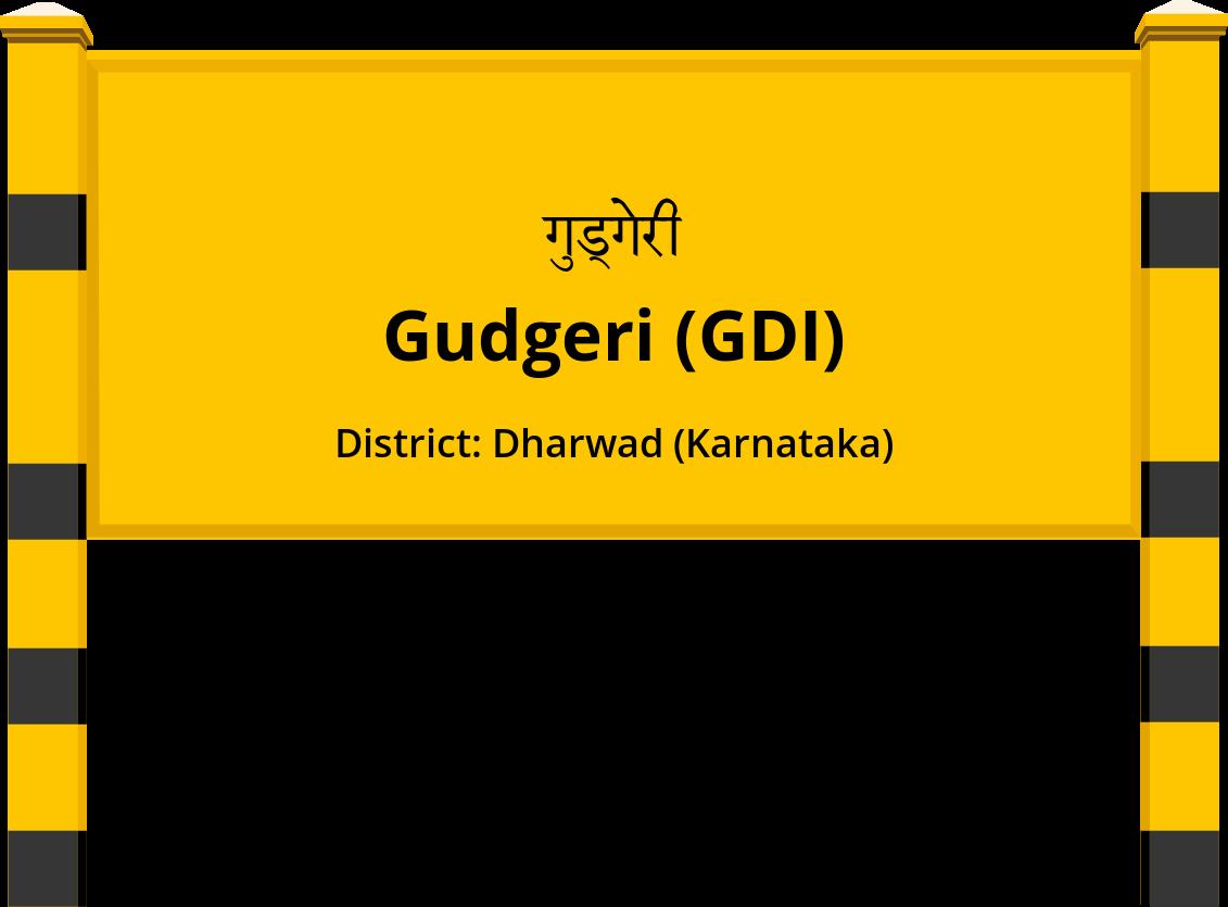Gudgeri (GDI) Railway Station