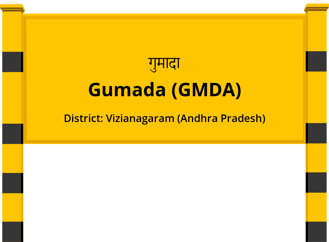 Gumada (GMDA) Railway Station