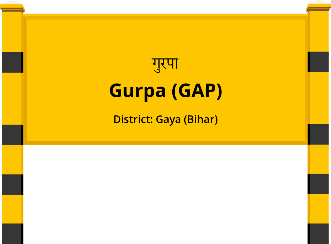 Gurpa (GAP) Railway Station