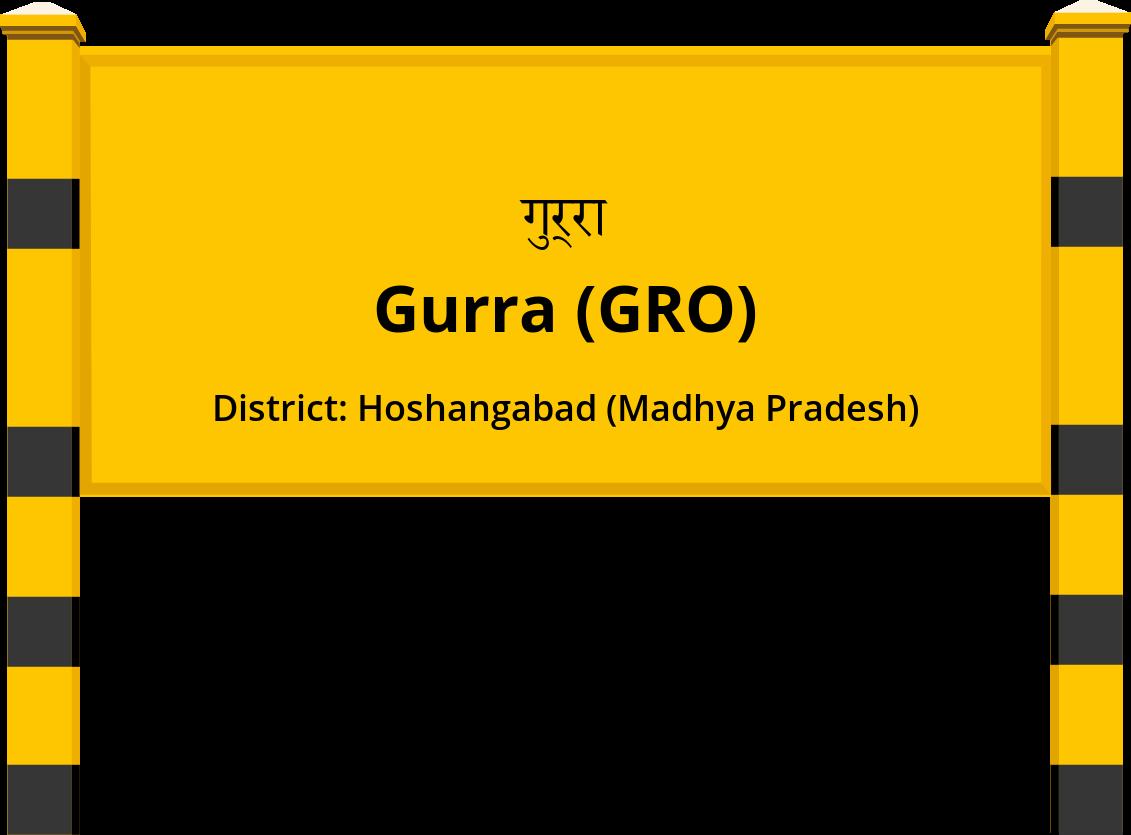 Gurra (GRO) Railway Station
