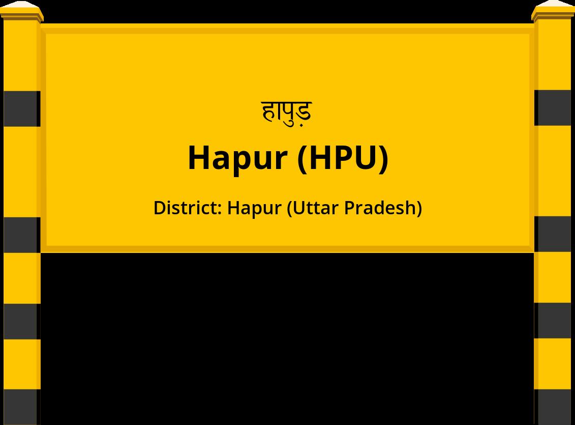 Hapur (HPU) Railway Station