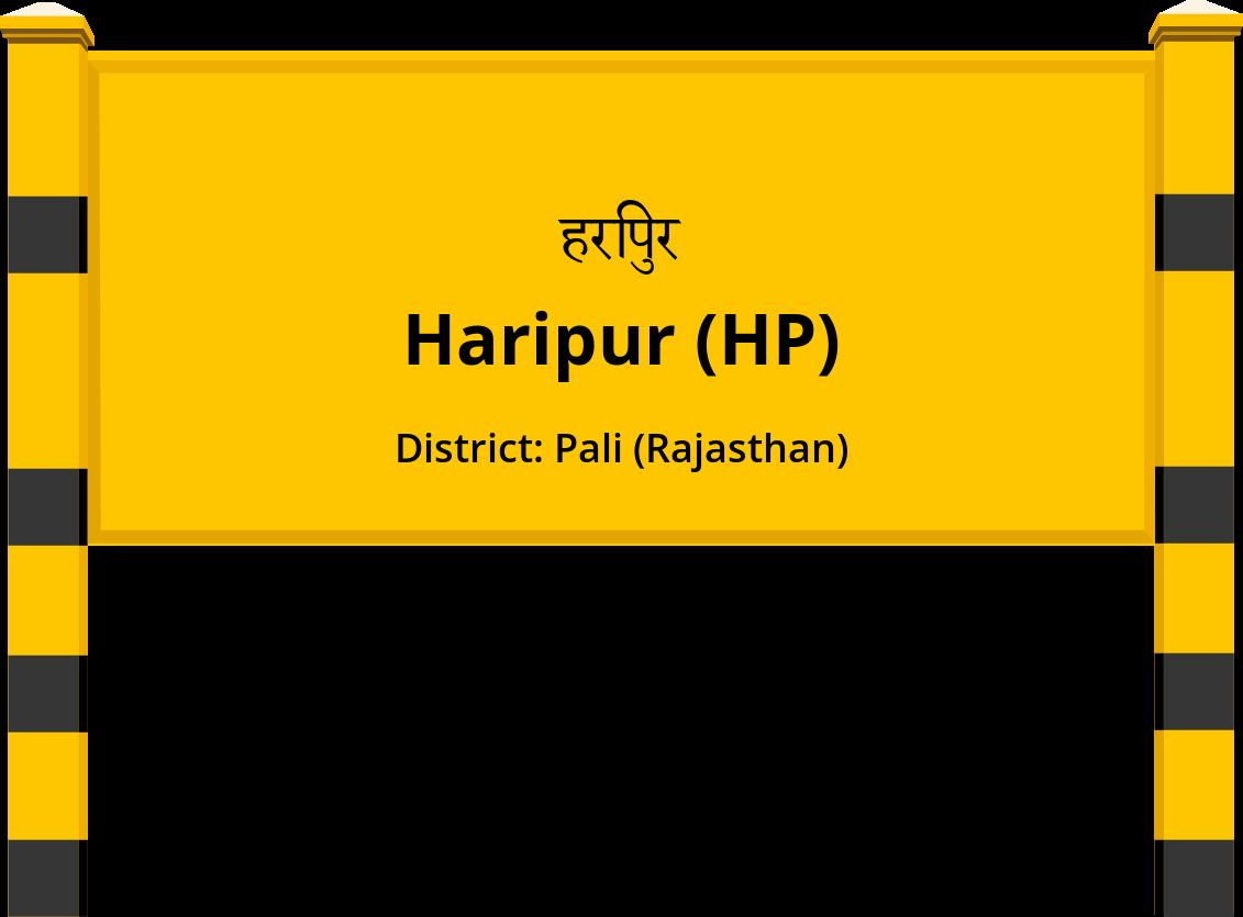 Haripur (HP) Railway Station