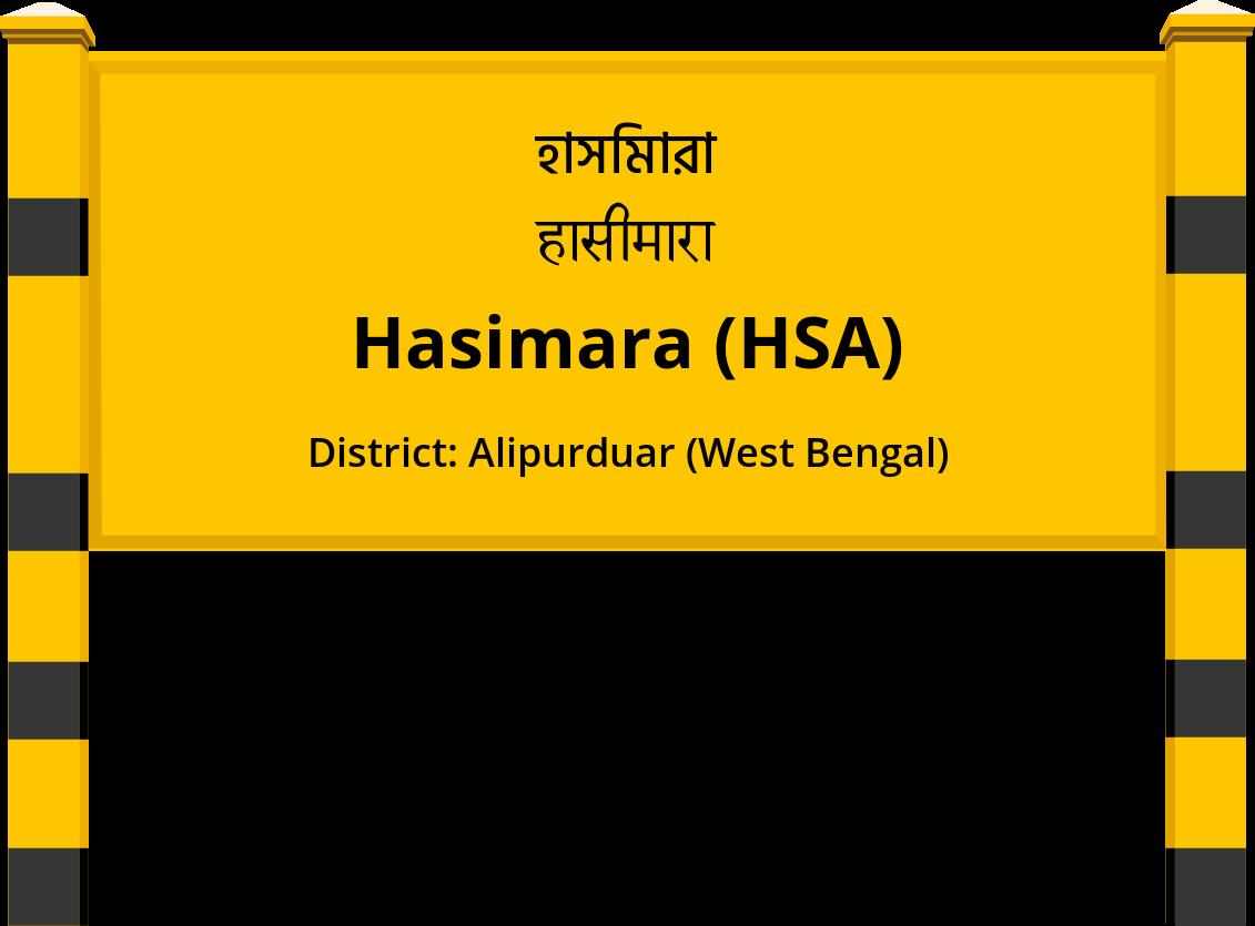 Hasimara (HSA) Railway Station