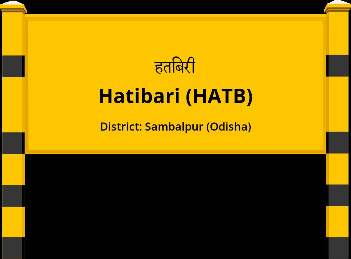 Hatibari (HATB) Railway Station