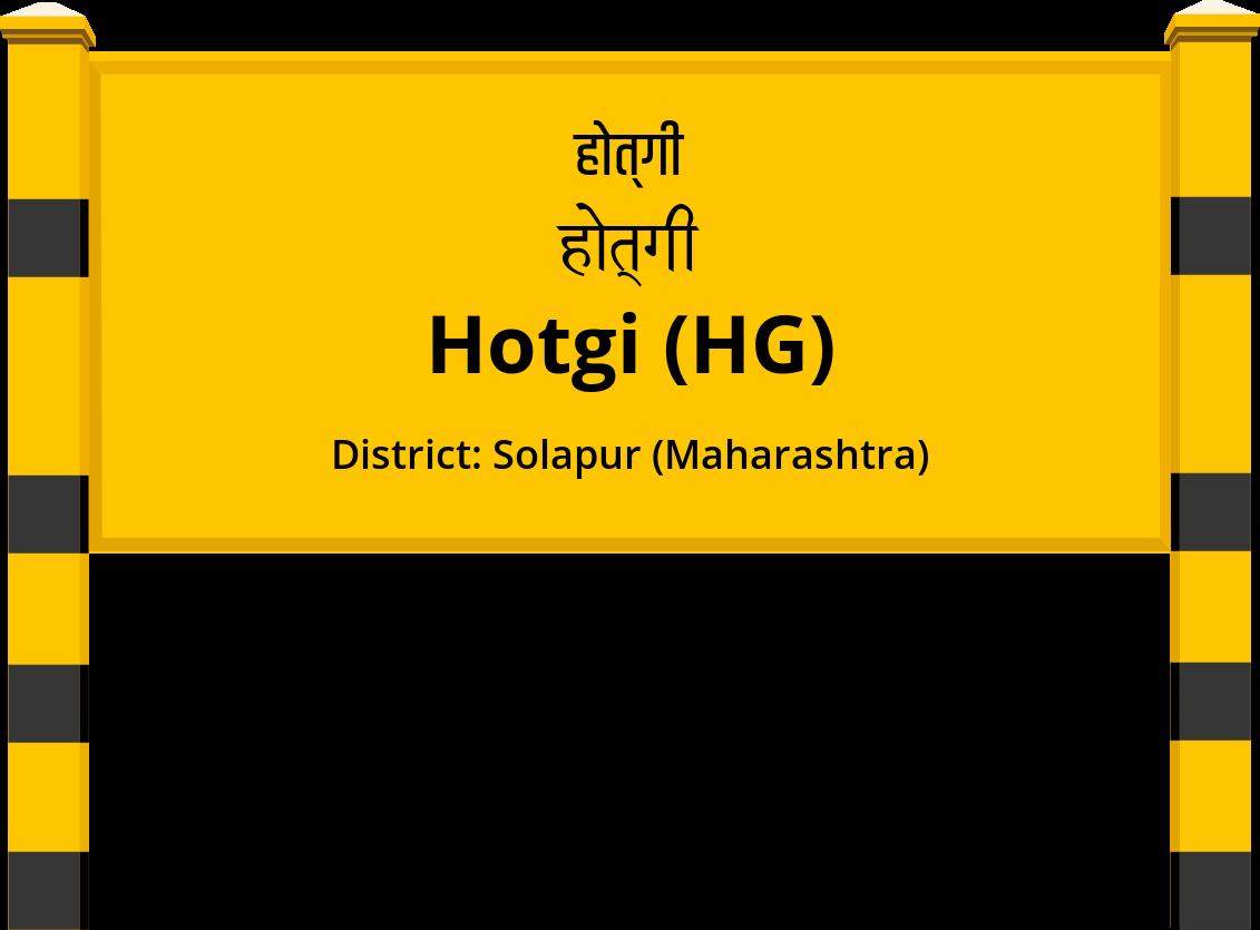 Hotgi (HG) Railway Station