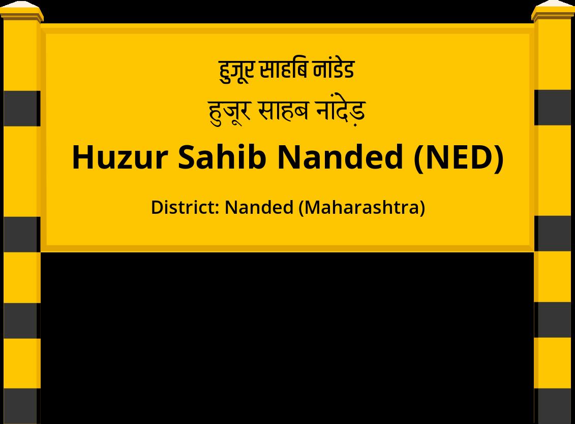 Huzur Sahib Nanded (NED) Railway Station