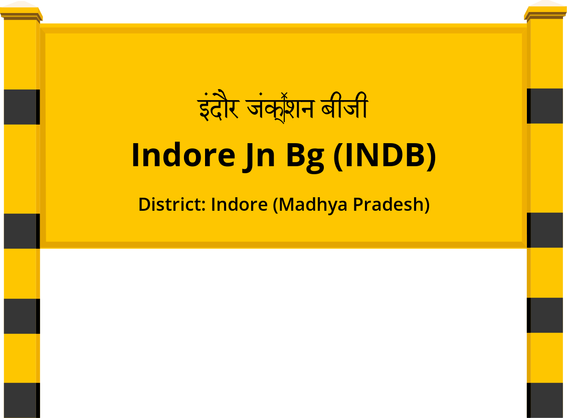 Indore Jn Bg (INDB) Railway Station