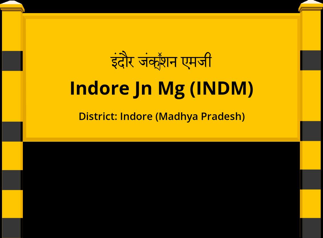 Indore Jn Mg (INDM) Railway Station