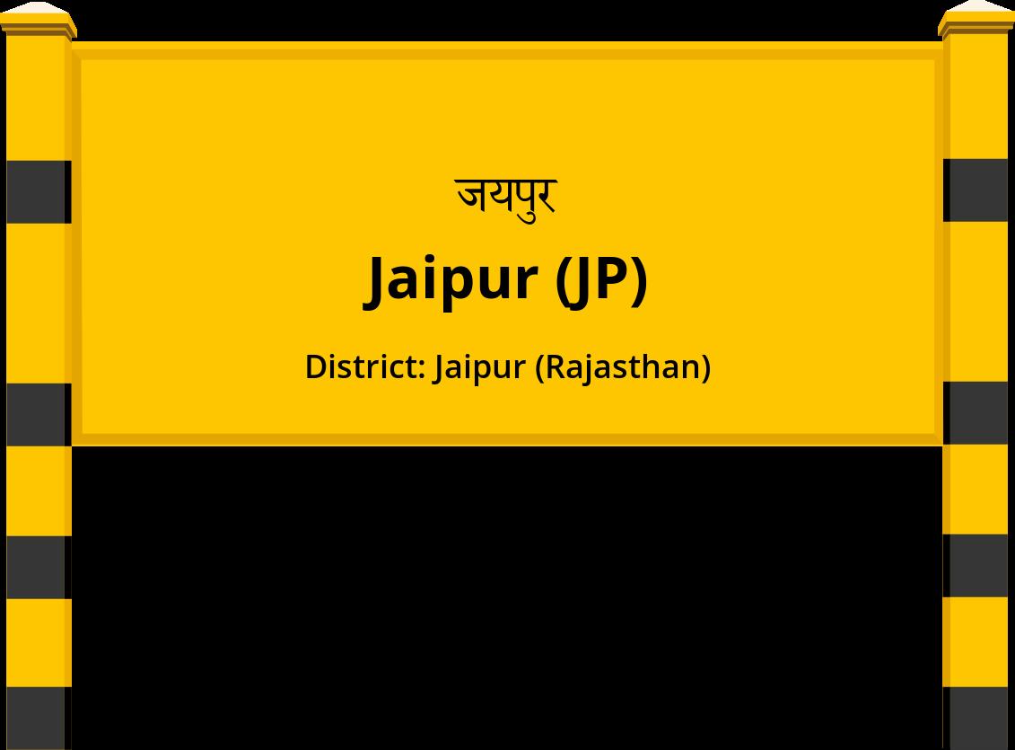 Jaipur (JP) Railway Station
