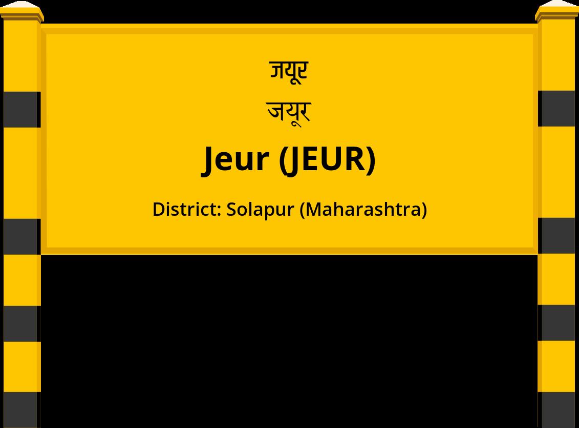 Jeur (JEUR) Railway Station