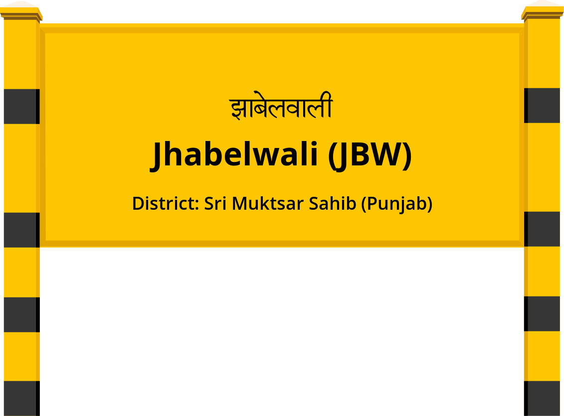 Jhabelwali (JBW) Railway Station