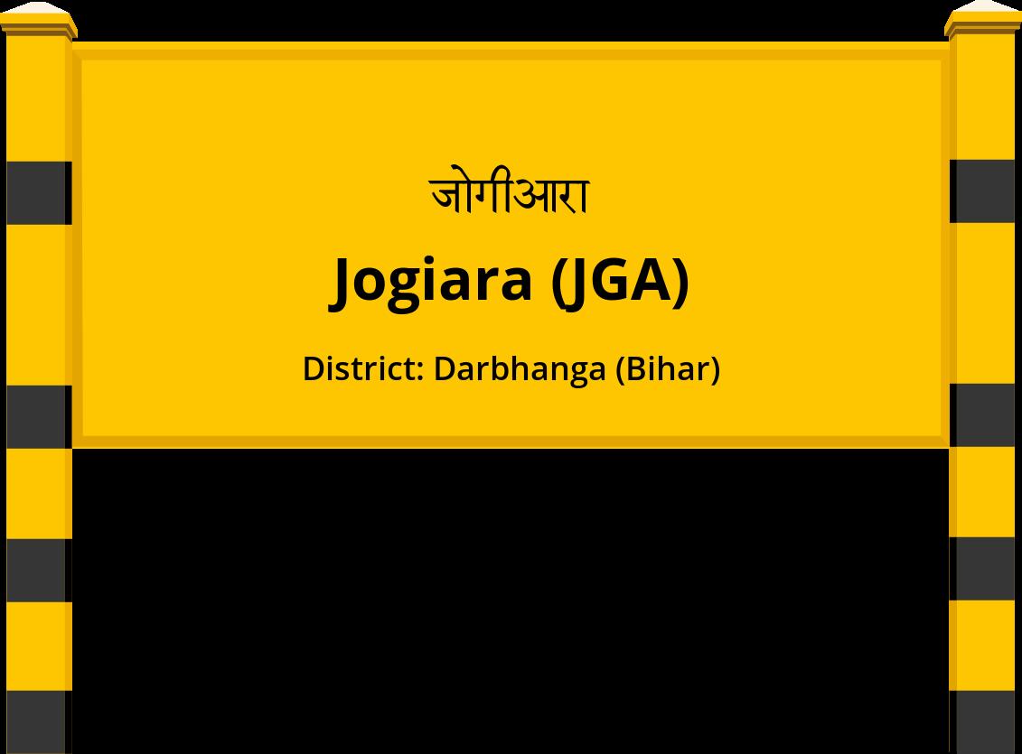 Jogiara (JGA) Railway Station