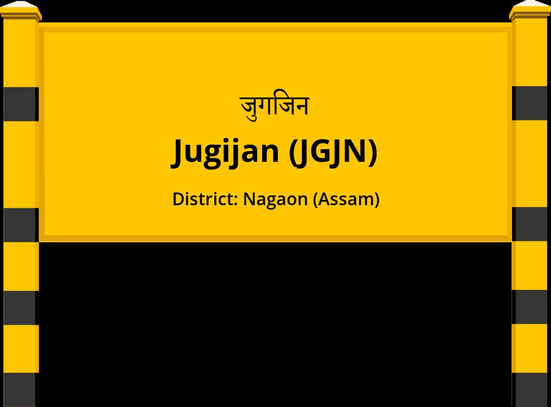 Jugijan (JGJN) Railway Station