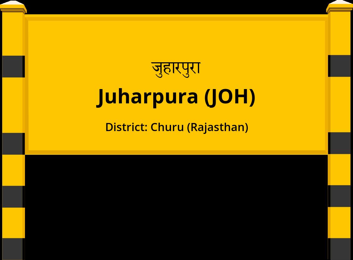 Juharpura (JOH) Railway Station
