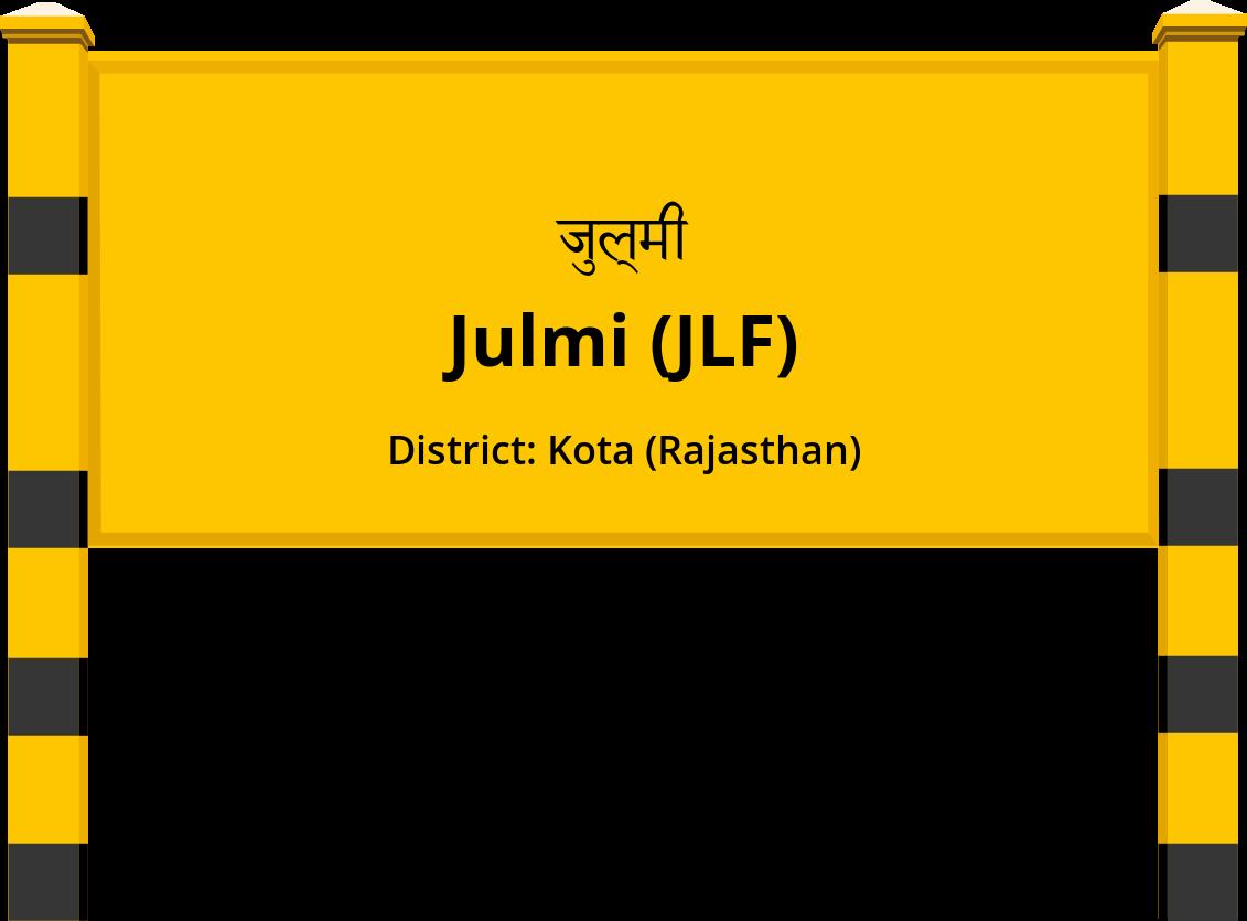Julmi (JLF) Railway Station