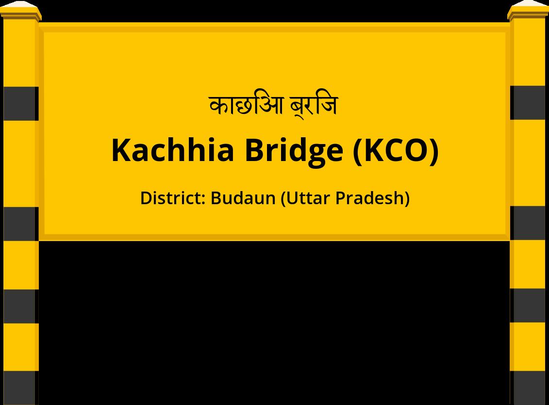 Kachhia Bridge (KCO) Railway Station
