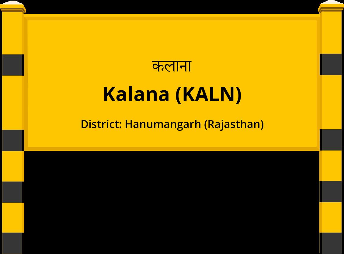 Kalana (KALN) Railway Station