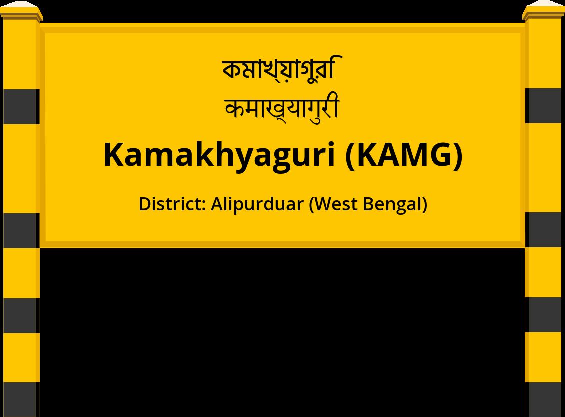 Kamakhyaguri (KAMG) Railway Station