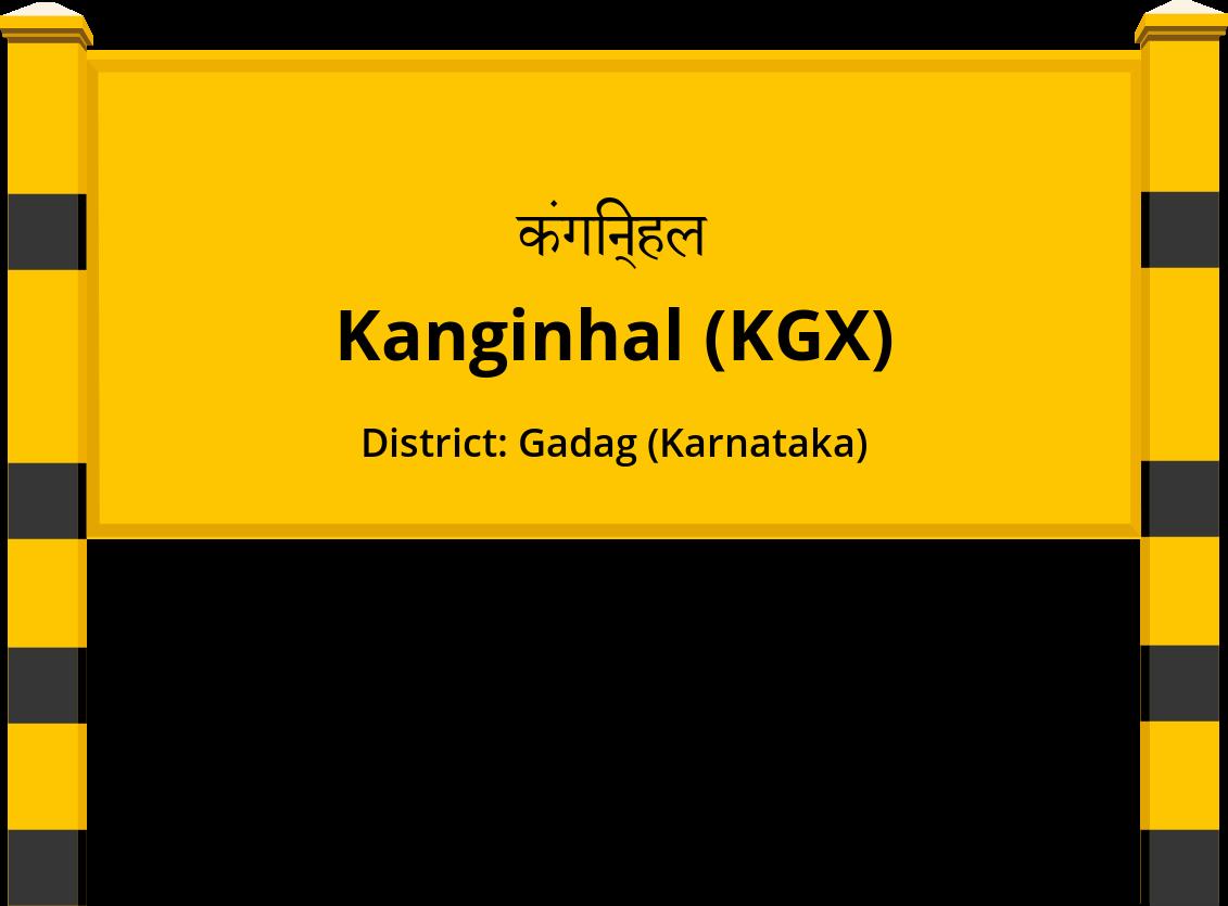 Kanginhal (KGX) Railway Station