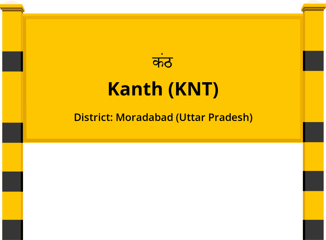 Kanth (KNT) Railway Station
