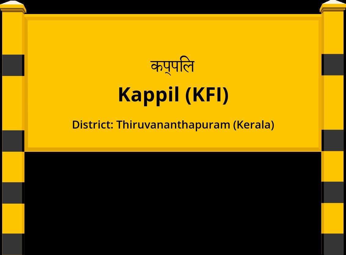 Kappil (KFI) Railway Station