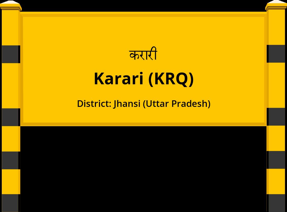 Karari (KRQ) Railway Station