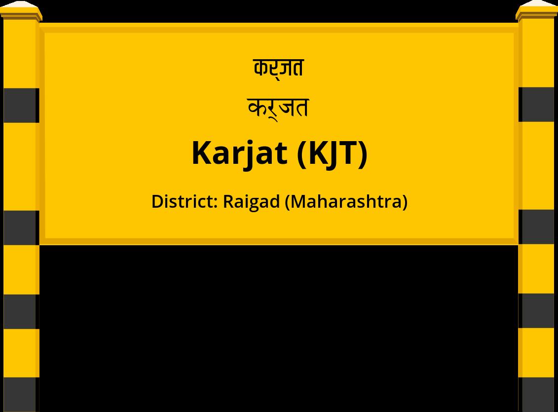 Karjat (KJT) Railway Station