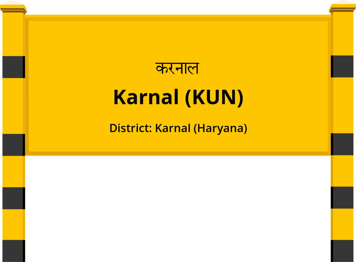 Karnal (KUN) Railway Station