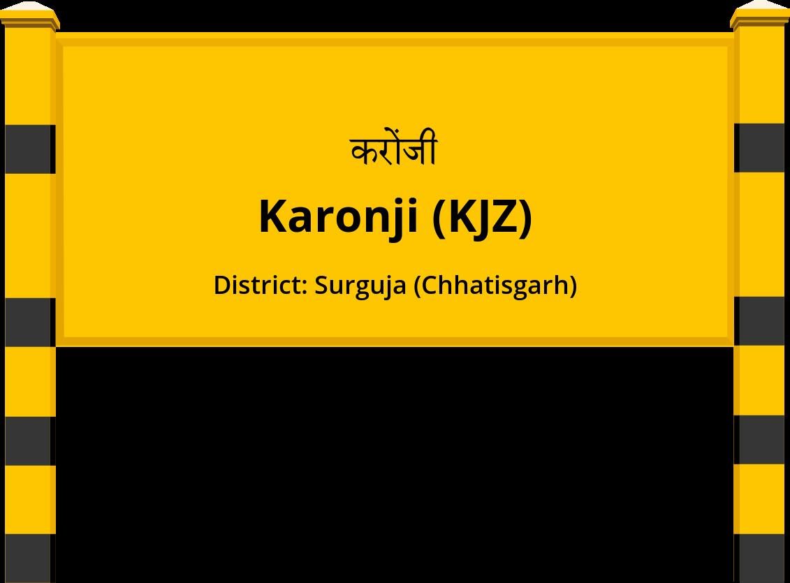 Karonji (KJZ) Railway Station