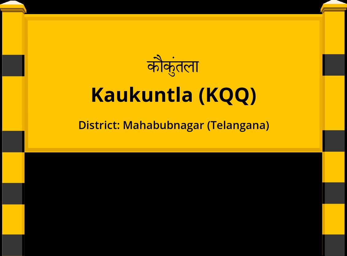 Kaukuntla (KQQ) Railway Station