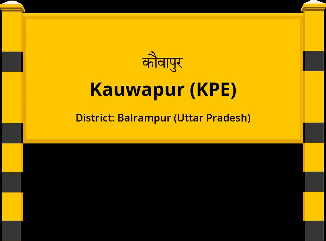 Kauwapur (KPE) Railway Station