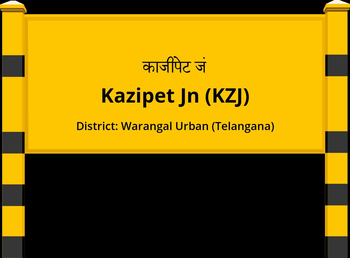 Kazipet Jn (KZJ) Railway Station