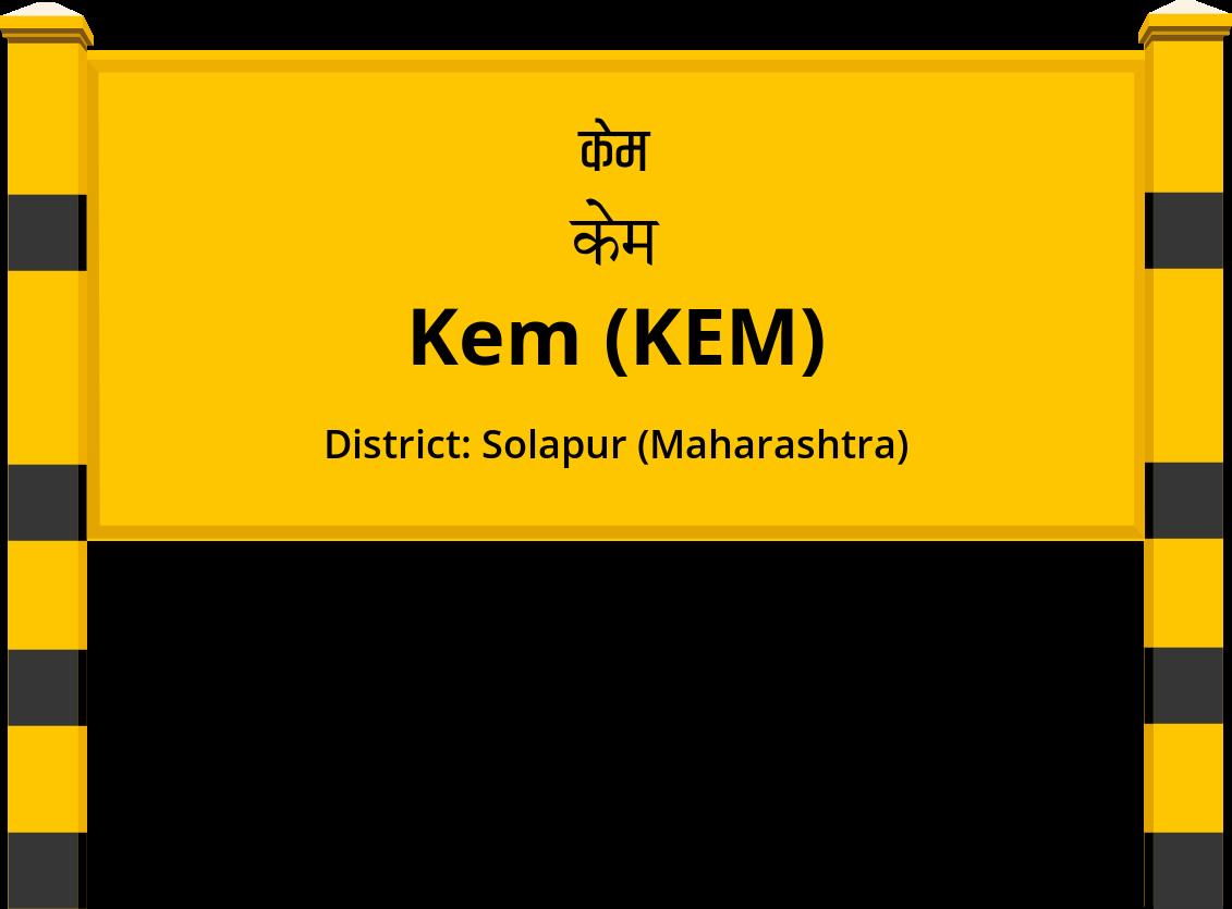 Kem (KEM) Railway Station